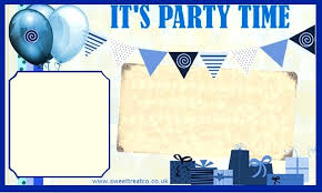 Boys Birthday Party Invitations Templates Printable Boys Birthday Party Invitations Guluca