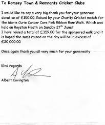 Fast Online Help Letter Thank You Sponsor