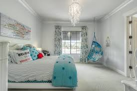eclectic kids bedroom with crown molding green st communities with regard to contemporary home teen room chandelier ideas