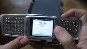 Nokia E70 - Browsing the Web - YouTube