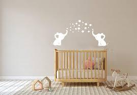pink and gray elephant crib bedding set