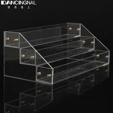 Acrylic Tiered Display Stands Clear Acrylic 100 Lipstick Storage Box Makeup Organizer Case Holder 88