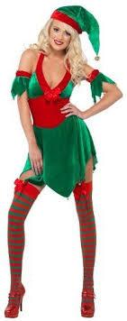 Captivating Fever Halter Neck Elf Costume