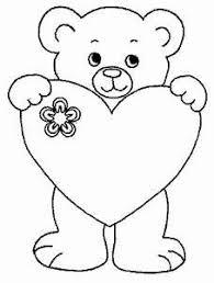 Kleurplaat Moederdag Liefde Valentijnsdag Kleurplat