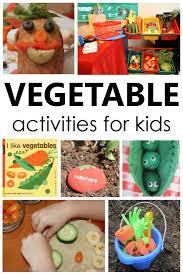 50 vegetable activities for kids in