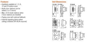 aiphone td 1h b 1 call handset sub master station online aiphone intercom manual at Aiphone Wiring Diagram