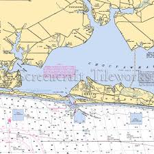 Florida Depth Chart Florida Destin To Valparaiso Nautical Chart Decor