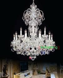 bohemian crystal chandelier modern big lamps indoor