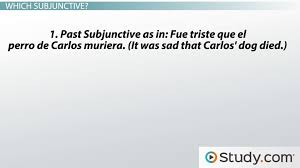spanish grammar how to use subjunctive