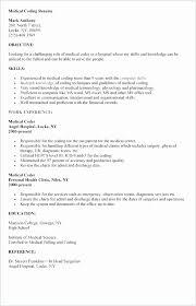 Medical Billing Resume Examples Best Medical Billing Resume Examples Samples New Medical Billing Sample