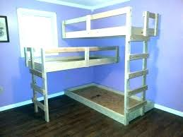 making a bunk bed loft with stairs beds inspirational plans guide patterns for diy out of making a bunk bed