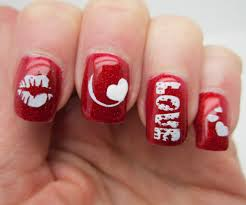 Dashing Valentine Day Easy Designs Then Valentines Nails Valentine ...