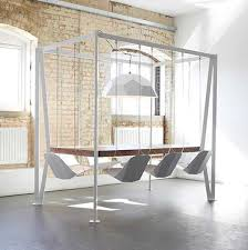 The Swing Table is available in bespoke finishes and sizes. Priced at  6,895 this