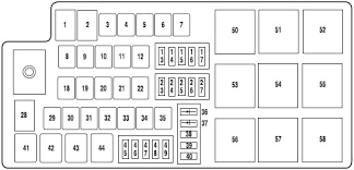 2007 fusion fuse box product wiring diagrams \u2022 07 ford fusion fuse box location at 07 Ford Fusion Fuse Box Location