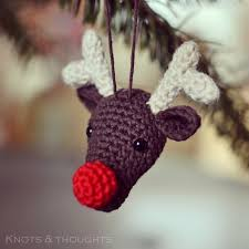 Crochet Decoration Patterns Free Crochet Christmas Ornament Patterns Knots And Thoughts