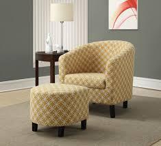 Yellow Living Room Furniture Monarch Specialties Yellow Accent Chair Walmartca