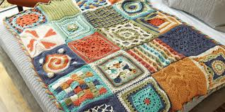 Afghan Crochet Patterns Beauteous Crochet Afghan Patterns How To Modify Afghans To Any Size Interweave