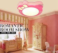 Großhandel Mädchen Schlafzimmer Beleuchtung Led Decken Cartoon Prinzessin Raumbeleuchtung Kty Katze Cartoon Kinder Leuchten
