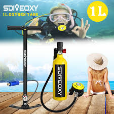 <b>SDIVEOXY scuba diving</b> oxygen tank portable <b>diving</b> equipment ...