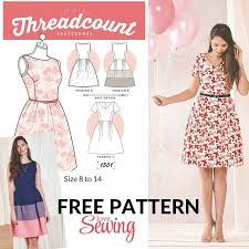 Patterns For Dresses Cool Free Dress Sewing Patterns Holaklonecco