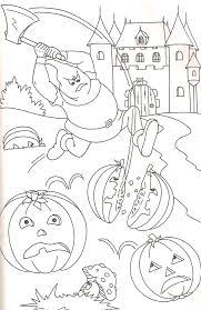 Coloriage Citrouilles Halloween