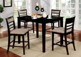 dining room table sets inspirational furniture of america yevana contemporary 5 piece counter height