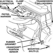 engine bay schematic showing major electrical ground points for 4 0l Wiring Harness 98 Jeep TJ Sahara at Ckp Sensor Wiring Harness Jeep Tj