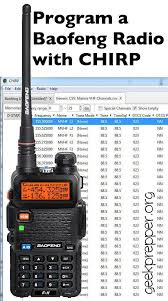 best ham radio images hams ham radio and radios easily program a baofeng radio chirp to store all the channels you need quickly and
