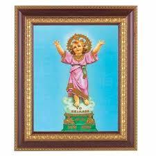 divino nino 8x10 inch print in a cherry gold edge frame 846218063761 126