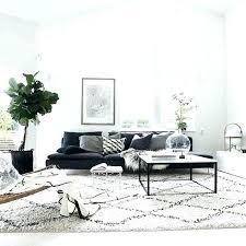 white fluffy living room rug grey