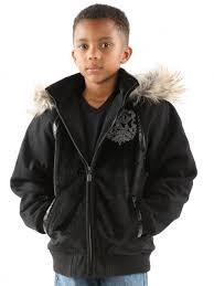 hooded pelle p black