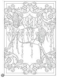 art nouveau coloring book disney art deco coloring book