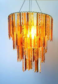 recycled glass chandelier celier by tord boontje and emma woffenden diy beaded recycled glass chandelier