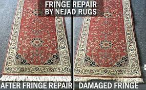 oriental rugs runner before and after photos of damaged fringe on rug style runners oriental rugs runner
