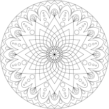 Small Picture mandala coloring pages