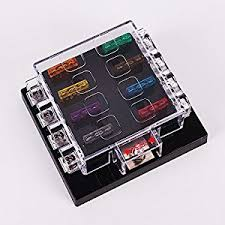 fuse block waterproof automotive parts online com z auto dc 32v 8 way circuit car fuse box 32v dc blade fuse holder