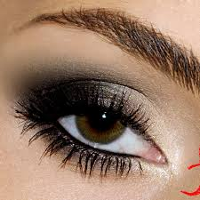 how to put on smokey eye makeup for brown eyes