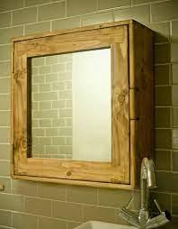 Bathroom Wall Cabinet Medicine Mirror Cabinet In Natural Etsy In 2021 Bathroom Wall Cabinets Wooden Bathroom Mirror Wooden Bathroom