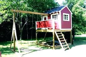 tree house kit medium size of perfect free plans kids wooden kits for ancient architectures from