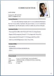 Job Resume Format Pdf Zaxatk Classy Resume Sample Format For Job Application