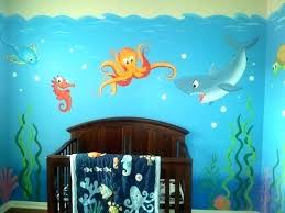 under the sea wall decor under sea wall decorations awesome under the sea themed bedroom kids