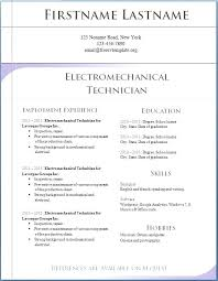 Resume Templates To Download To Microsoft Word For Free Linkv Net