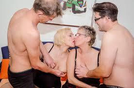 Teresa R Volker K Stefan D. and Angelika J. in a foursome PornDoe