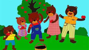 Nhạc không lời bài hát : Gia đình gấu - Thư viện mầm non
