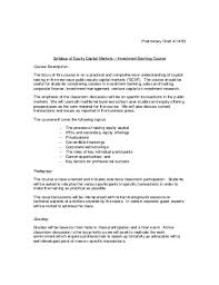 Stunning Equity Capital Markets Resume Photos - Simple resume .