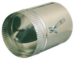 air conditioning damper. duct dampers (jiffy w/ sleeves) air conditioning damper b
