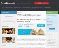 Apa Maker Free What You Must Know About Free Apa Bibliography Format