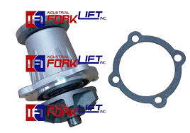 Toyota Forklift 3P & 4P Engine Water Pump w/gasket(NEW)Part#TY16120 ...
