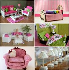 diy barbie furniture and diy barbie house ideas dollhouse barbie furniture for dollhouse