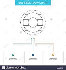 Life Chart Template Help Life Lifebuoy Lifesaver Preserver Business Flow
